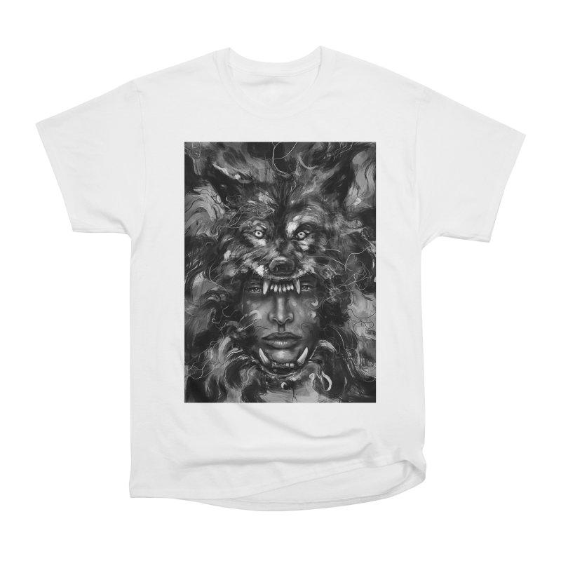 Empress Wolf Women's Classic Unisex T-Shirt by nicebleed