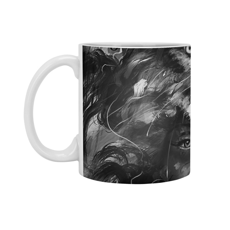 Empress Wolf Accessories Mug by nicebleed