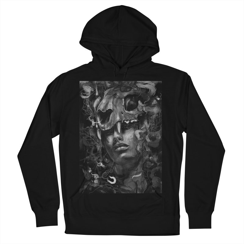 Empress Lion Skull Women's Pullover Hoody by nicebleed