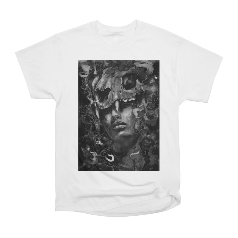Empress Lion Skull Women's Classic Unisex T-Shirt by nicebleed