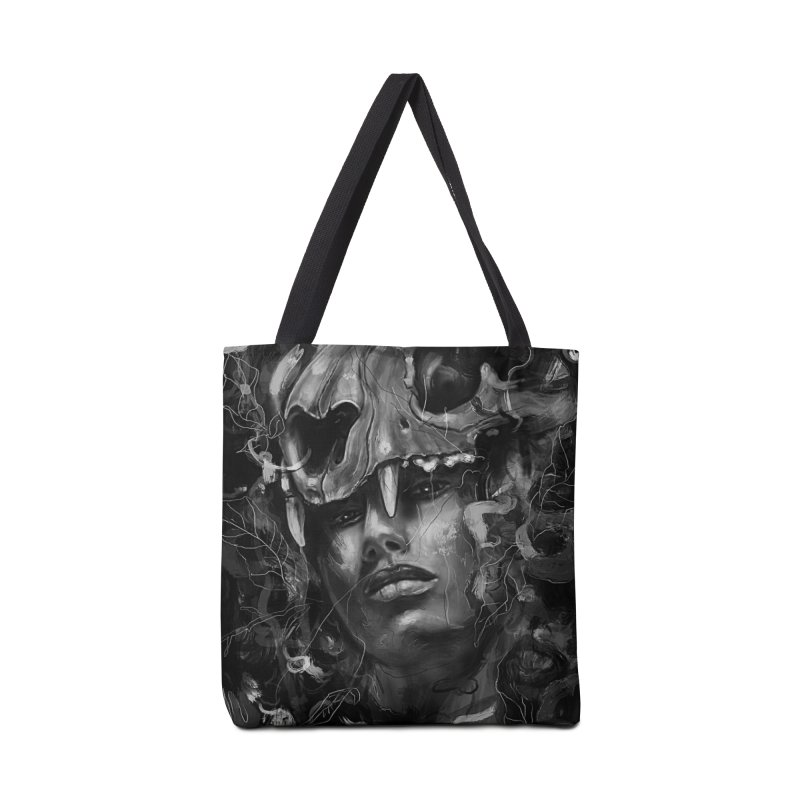Empress Lion Skull Accessories Bag by nicebleed