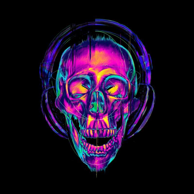 Trippy Skull by nicebleed