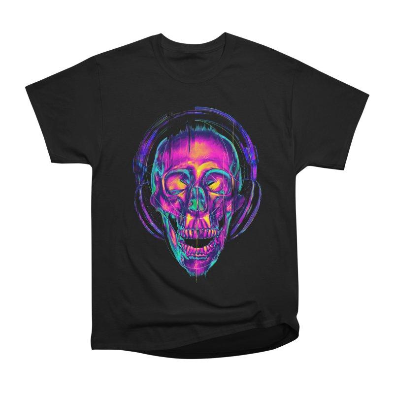 Trippy Skull Women's Classic Unisex T-Shirt by nicebleed
