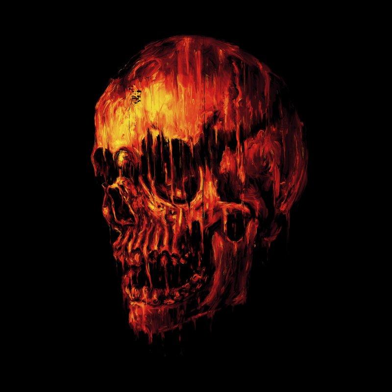 Melting Skull by nicebleed