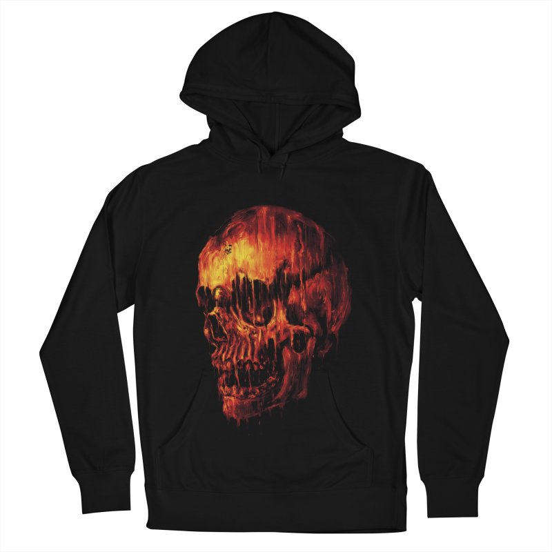 Melting Skull Men's Pullover Hoody by nicebleed