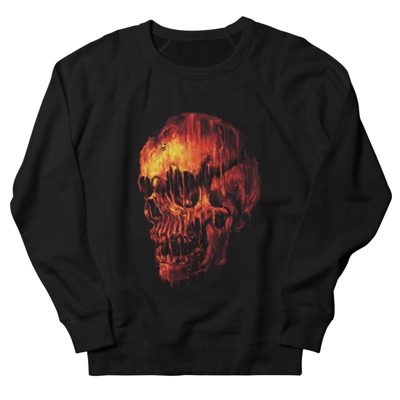 Melting Skull Men's Sweatshirt by nicebleed