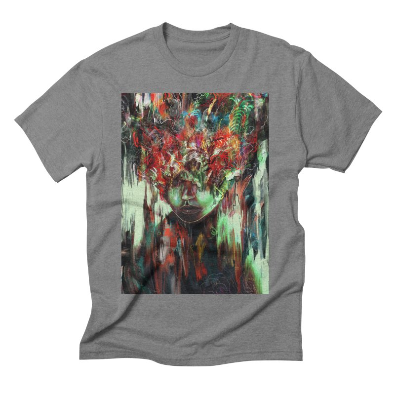 Chaotic Mind Men's Triblend T-shirt by nicebleed
