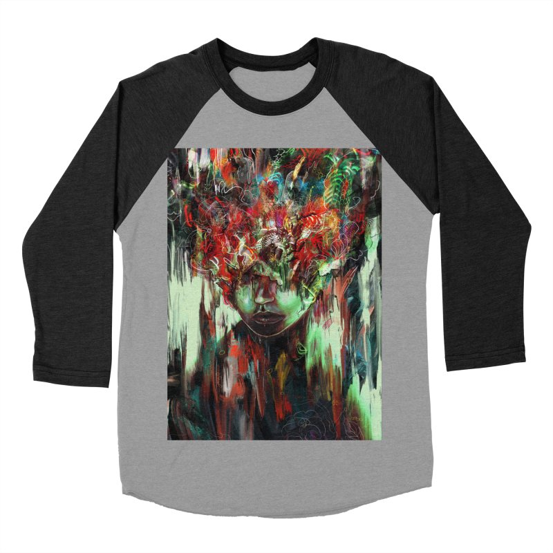 Chaotic Mind Women's Baseball Triblend T-Shirt by nicebleed