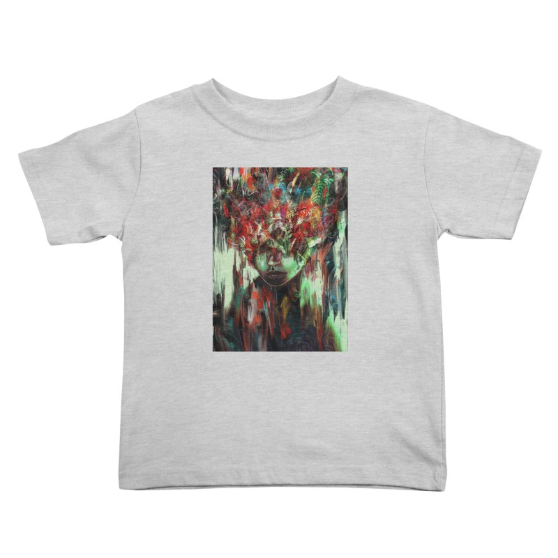 Chaotic Mind Kids Toddler T-Shirt by nicebleed