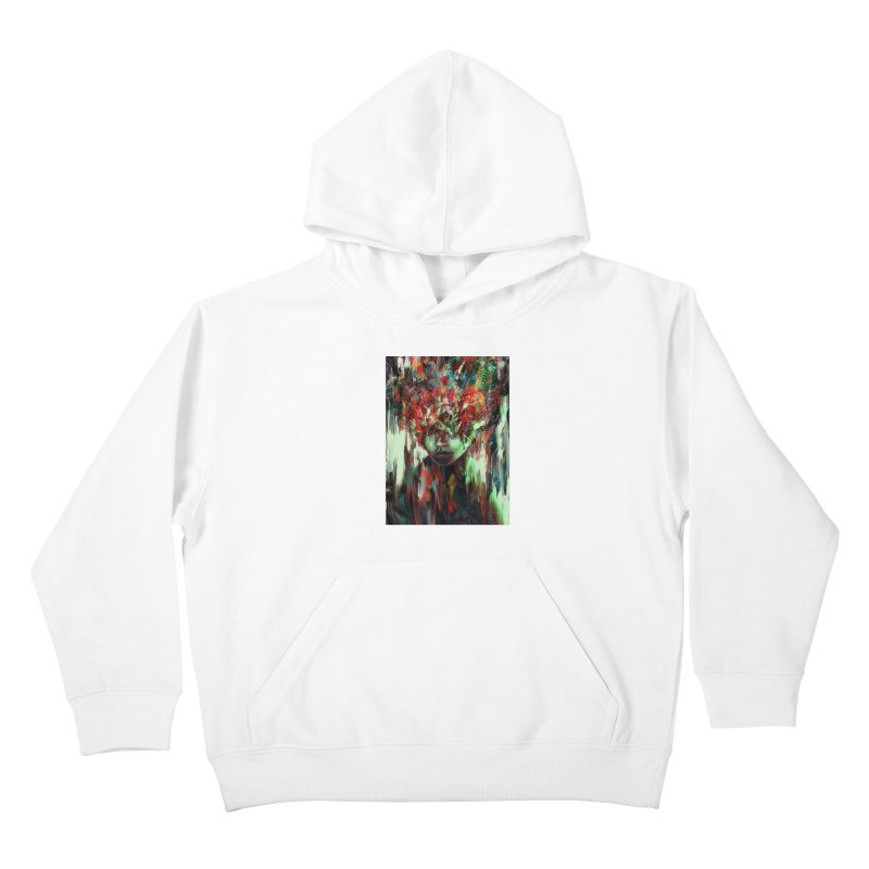 Chaotic Mind Kids Pullover Hoody by nicebleed