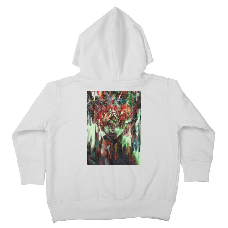 Chaotic Mind Kids Toddler Zip-Up Hoody by nicebleed