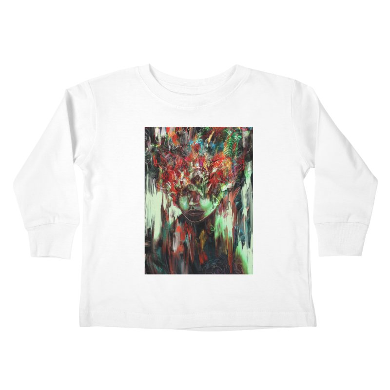 Chaotic Mind Kids Toddler Longsleeve T-Shirt by nicebleed