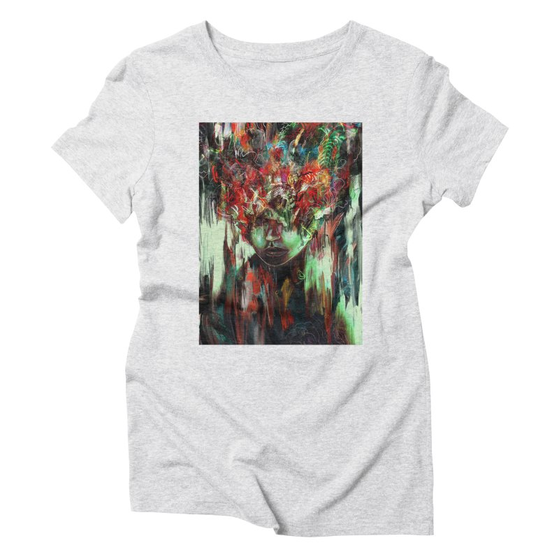Chaotic Mind Women's Triblend T-shirt by nicebleed