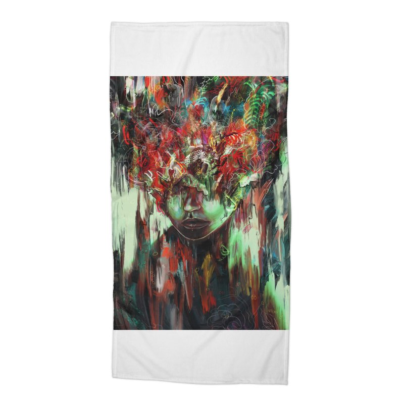 Chaotic Mind Accessories Beach Towel by nicebleed