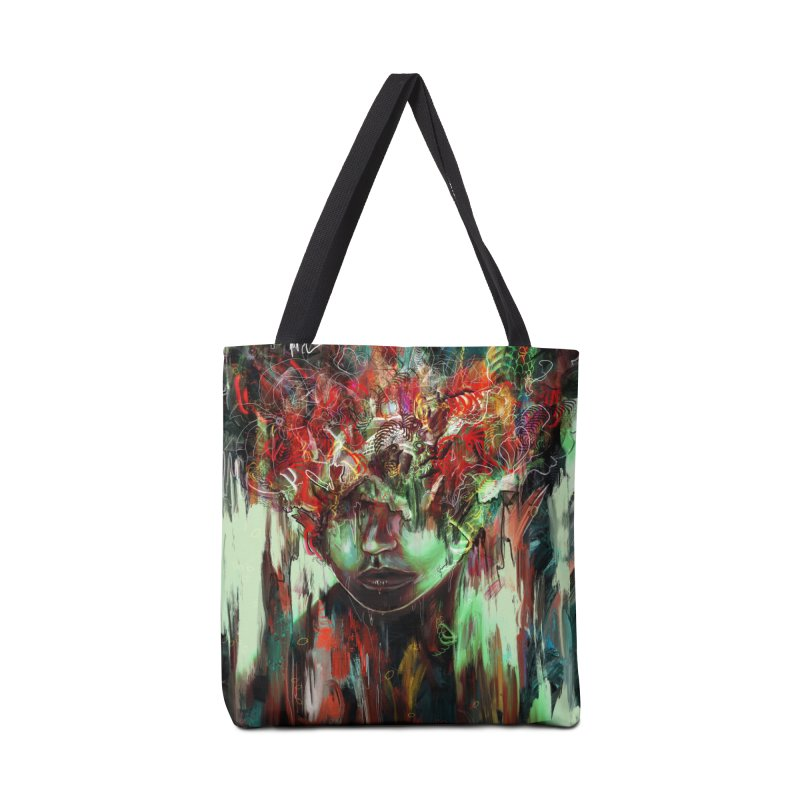 Chaotic Mind Accessories Bag by nicebleed