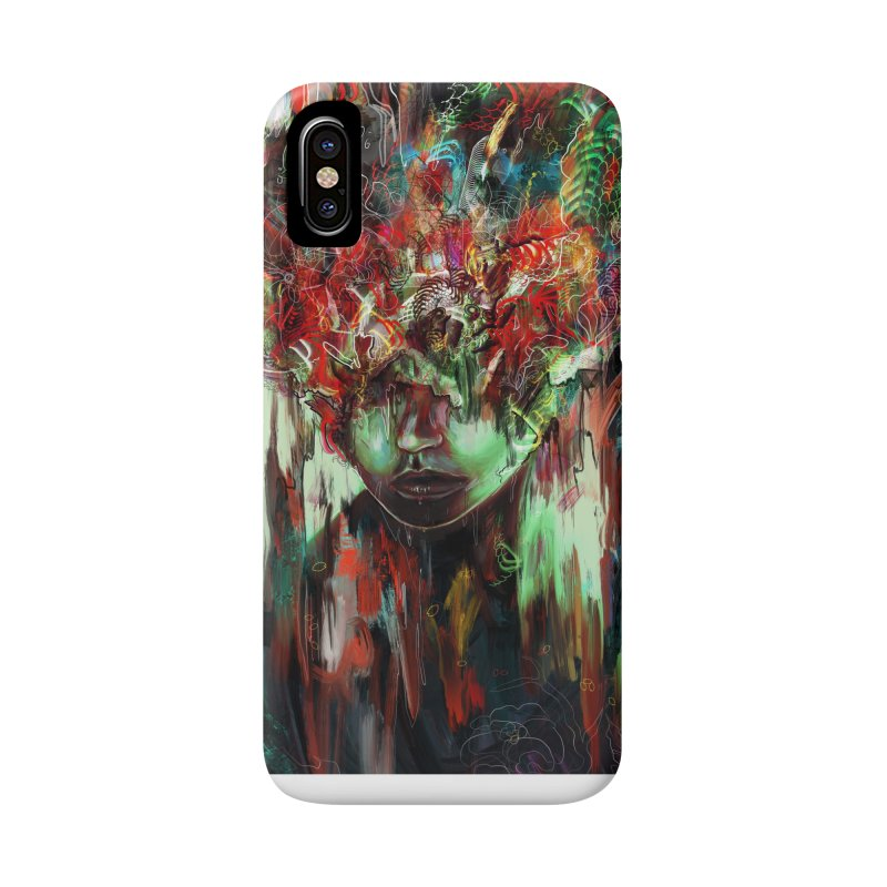 Chaotic Mind Accessories Phone Case by nicebleed