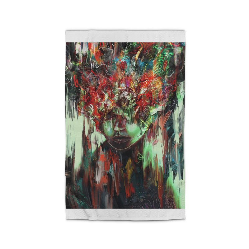 Chaotic Mind Home Rug by nicebleed