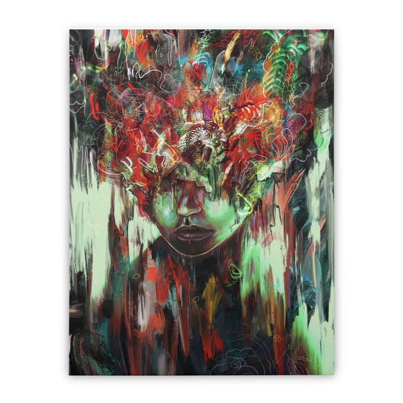 Chaotic Mind Home Stretched Canvas by nicebleed