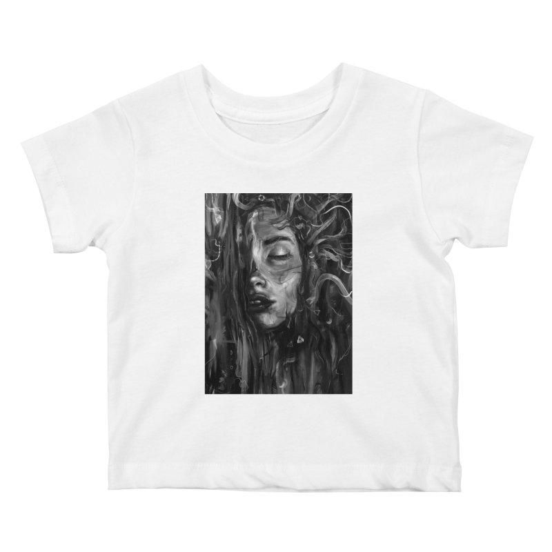 Deep Kids Baby T-Shirt by nicebleed
