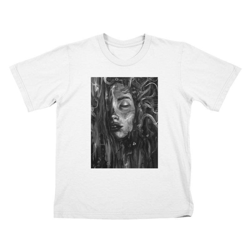 Deep Kids T-Shirt by nicebleed