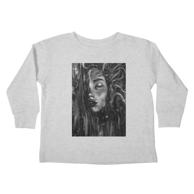 Deep Kids Toddler Longsleeve T-Shirt by nicebleed