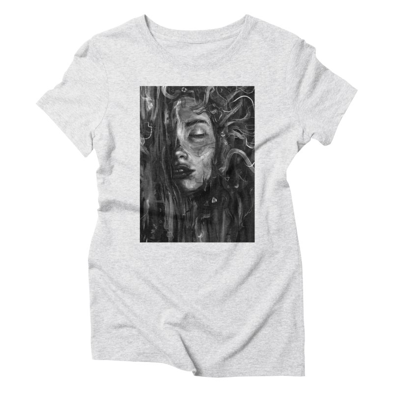 Deep Women's Triblend T-shirt by nicebleed