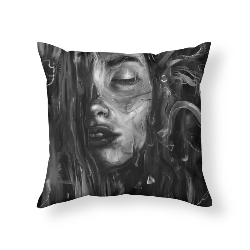 Deep Home Throw Pillow by nicebleed