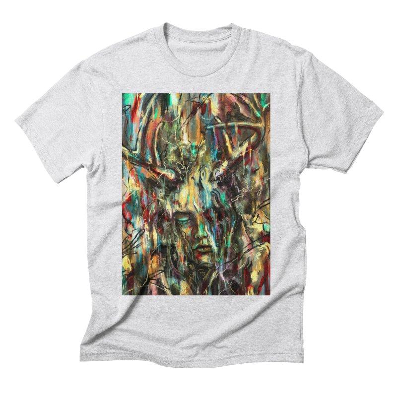 Villain Men's Triblend T-Shirt by nicebleed