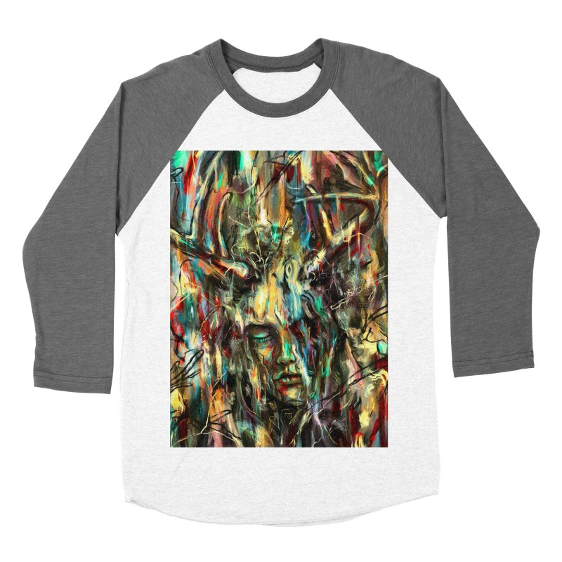 Villain Women's Baseball Triblend T-Shirt by nicebleed