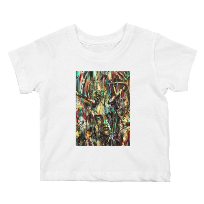 Villain Kids Baby T-Shirt by nicebleed