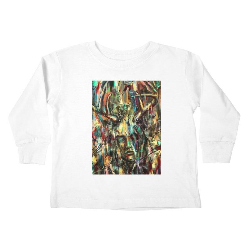 Villain Kids Toddler Longsleeve T-Shirt by nicebleed