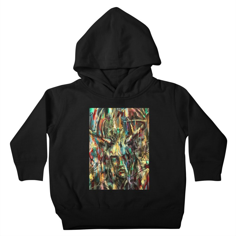 Villain Kids Toddler Pullover Hoody by nicebleed
