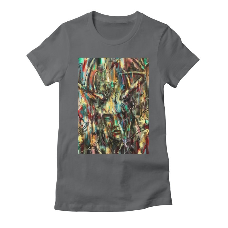 Villain Women's Fitted T-Shirt by nicebleed