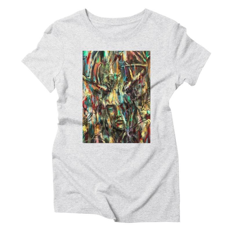 Villain Women's Triblend T-shirt by nicebleed