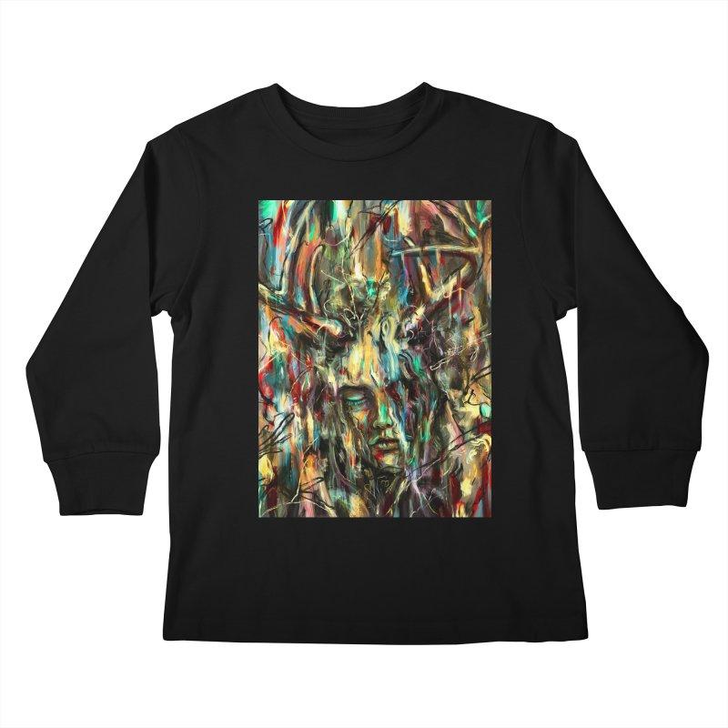 Villain Kids Longsleeve T-Shirt by nicebleed