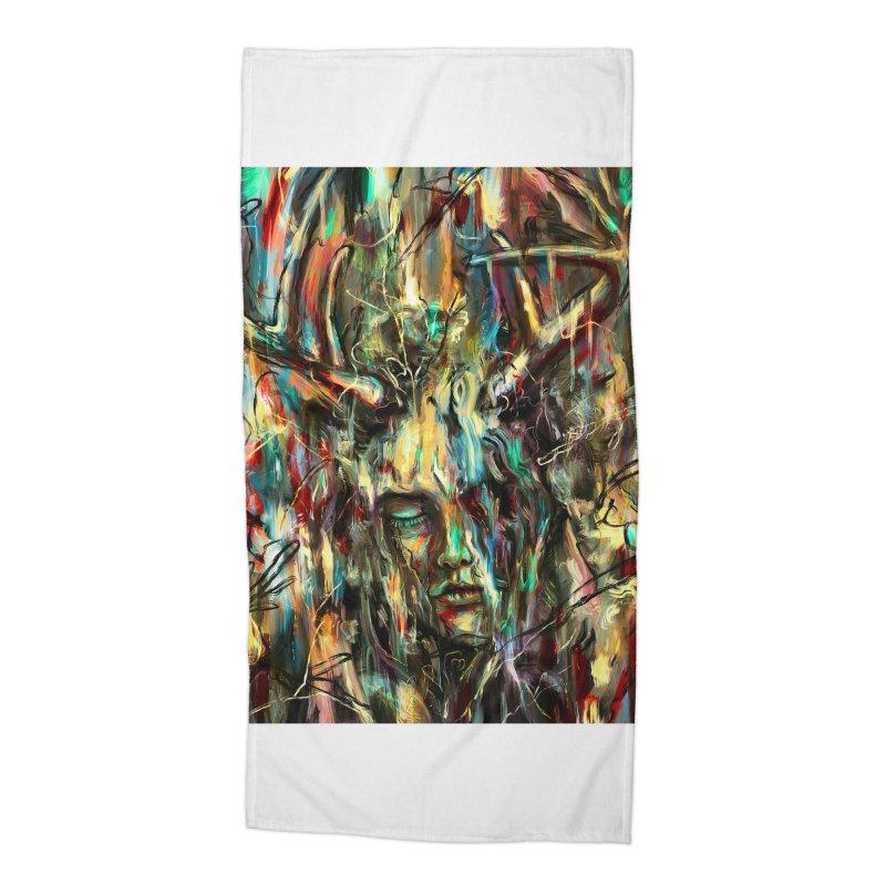 Villain Accessories Beach Towel by nicebleed