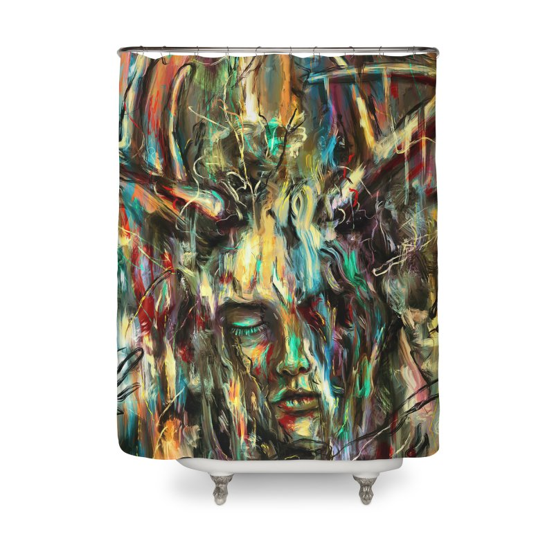 Villain Home Shower Curtain by nicebleed