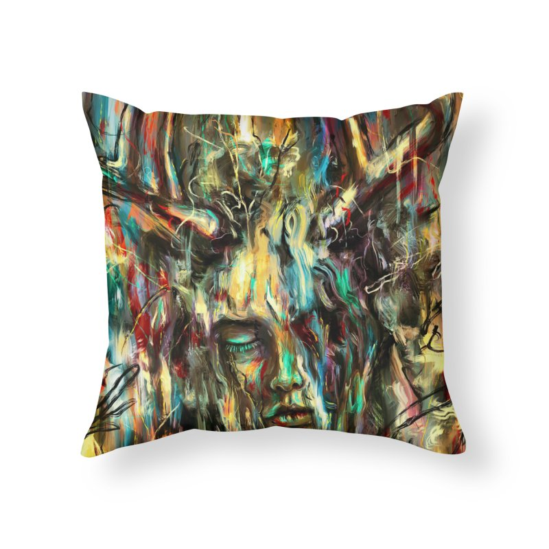 Villain Home Throw Pillow by nicebleed