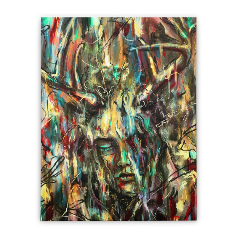 Villain Home Stretched Canvas by nicebleed