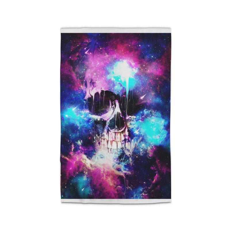 Space Skull Home Rug by nicebleed