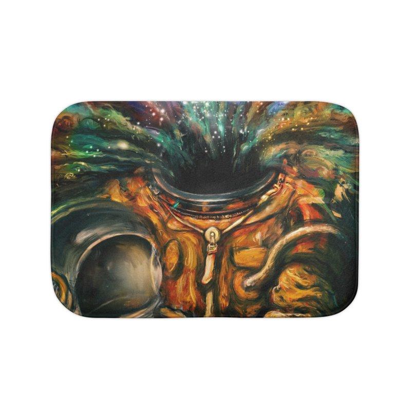Inhale Home Bath Mat by nicebleed