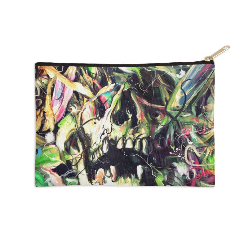 Buried Accessories Zip Pouch by nicebleed