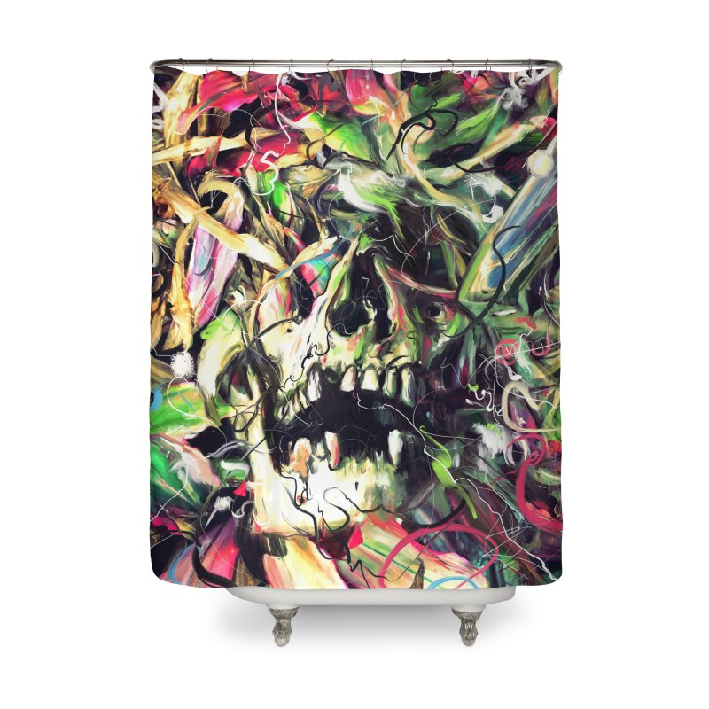 Buried Home Shower Curtain by nicebleed