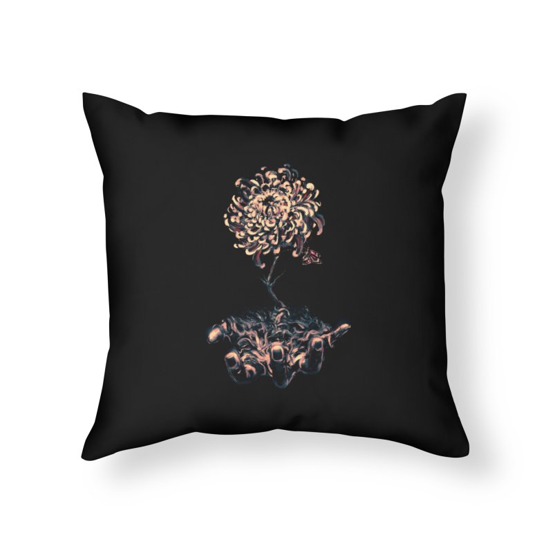 Symbiosis Home Throw Pillow by nicebleed