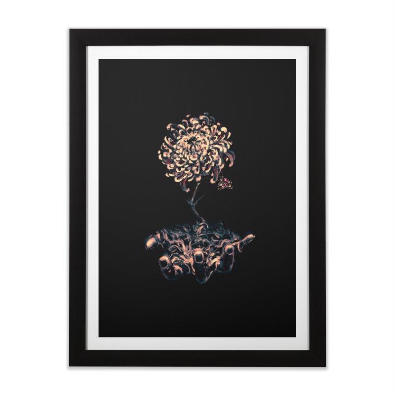 Symbiosis Home Framed Fine Art Print by nicebleed