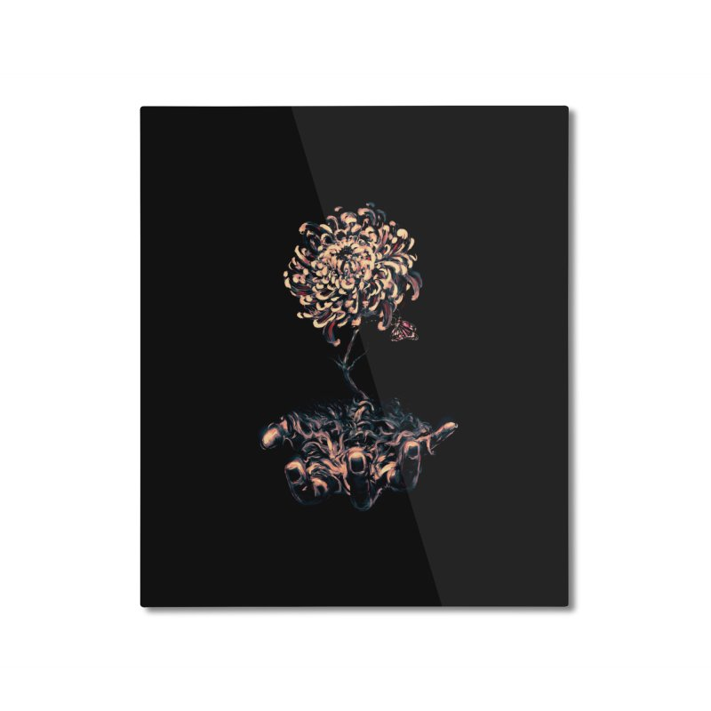 Symbiosis Home Mounted Aluminum Print by nicebleed