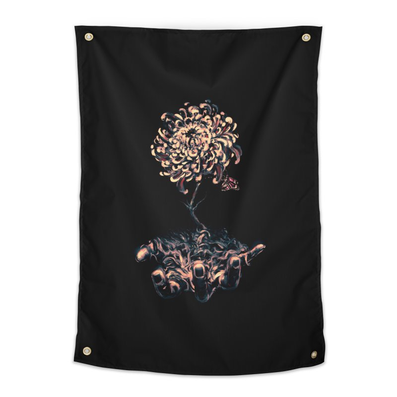 Symbiosis Home Tapestry by nicebleed