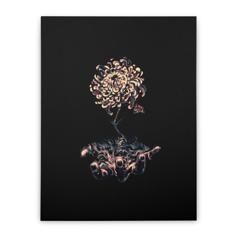 Symbiosis Home Stretched Canvas by nicebleed