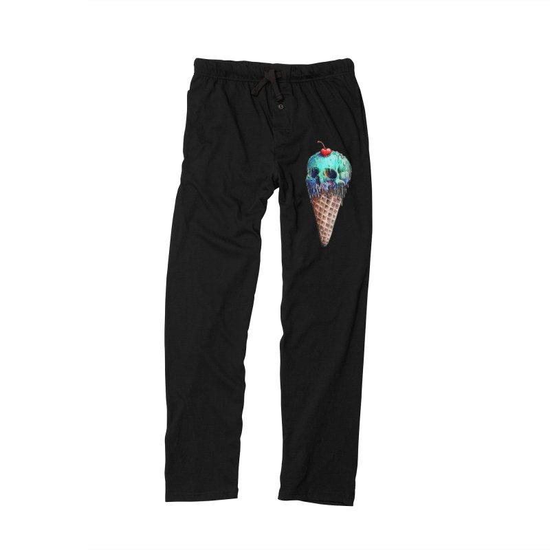 Ice Cream Skull Men's Lounge Pants by nicebleed