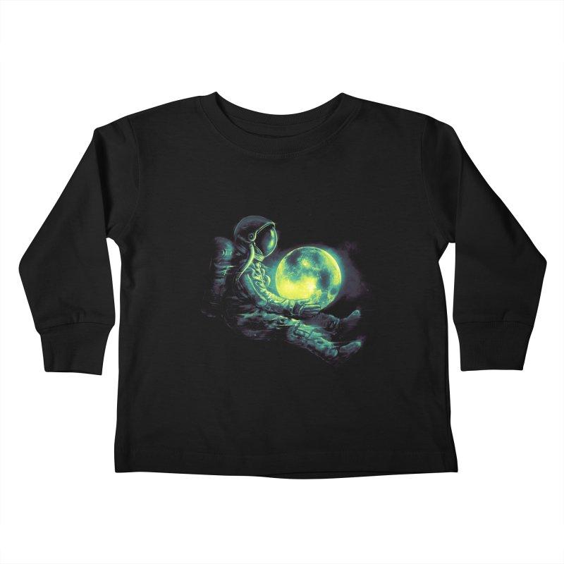 Moon Play Kids Toddler Longsleeve T-Shirt by nicebleed
